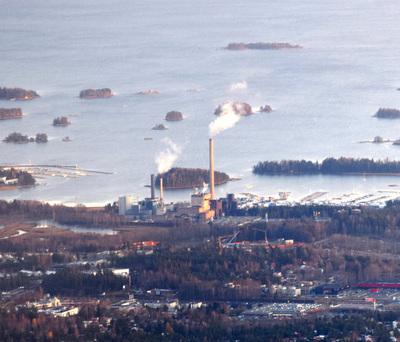 Suomenoja power plant