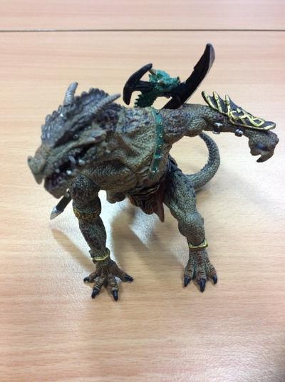 My Welsh dragon warrior