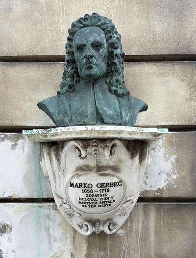 Statue of Marko Gerbec