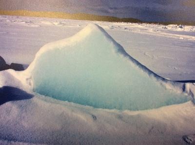 Snow in Sakhalin