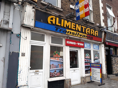 Romanian stores in Dublin