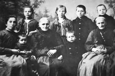 My Tyrolean great grandmother in exile in Moravia