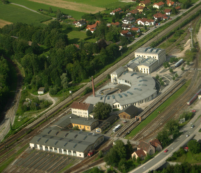 Locomotive shed, Freilassing