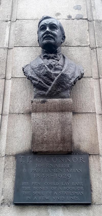 Statue of T P O'Connor