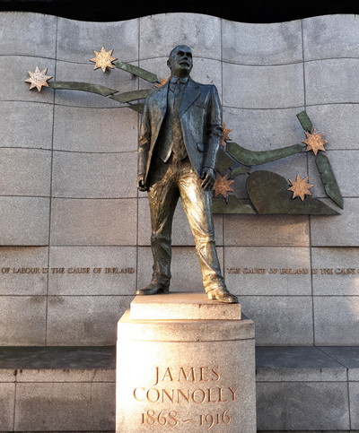 Statue of James Connolly