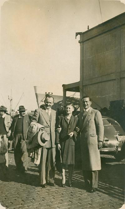 Moj otac Antun Vićan emigrant u Buenos Airesu 1924. god.
