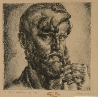 Én, szakállal 1923-ban