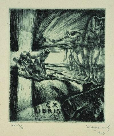 Ex libris Varga Nándor Lajos