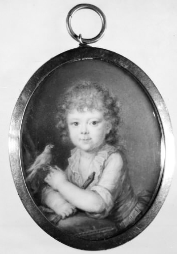 Marie Anne Gertrude Pingel as a Child