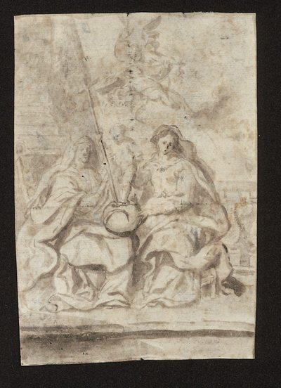 Dzieciątko Jezus jako Salvator Mundi;