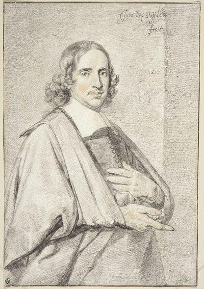 Portret kaznodziei Bernardusa Somera (1642-1684)