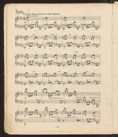 Ignacy Jan Paderewski, Variations et Fugue. Op. 23