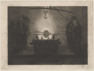 Odlewnia ; verso: Portret Mikołaja Kopernika