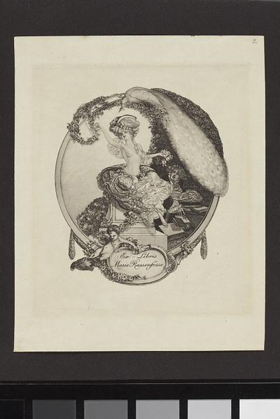 Ex-Libris Marie Rassenfosse