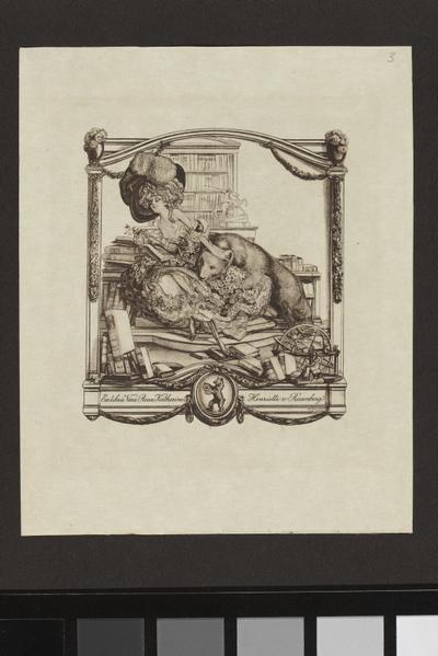 Ex-libris Vera Rosa Katherine Henriette von Rosenberg