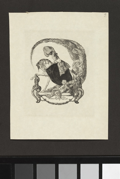 Ex-libris Florence Taylor Rupprecht
