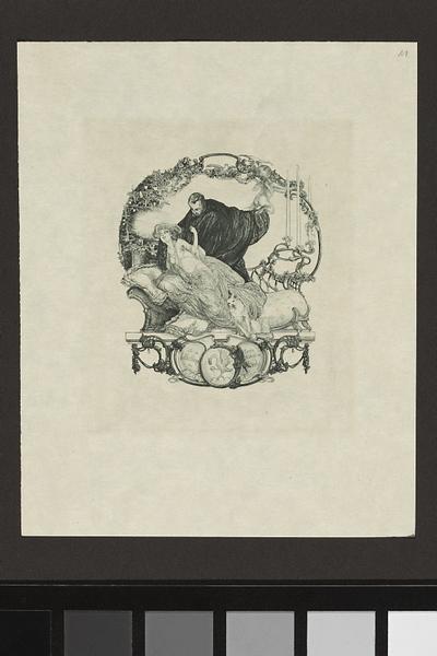 [Ekslibris:] De la bibliotheque du Comte Michel de Karolyi