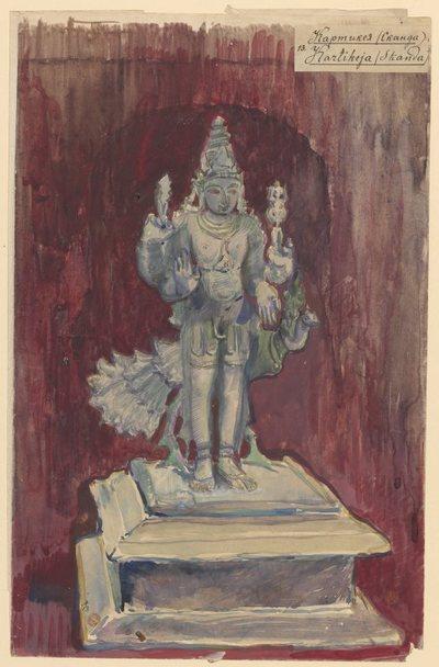 Kartikeja (Skanda), syn Śiwy, z cyklu