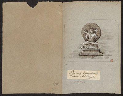 Wcielenie Wisznu w Buddę - Buddaawatara, z cyklu