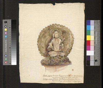 Budda Sakja-muni (Gotama Budda), z cyklu