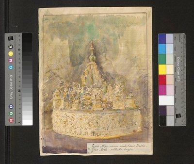 Góra Meru - siedlisko bogów, z cyklu