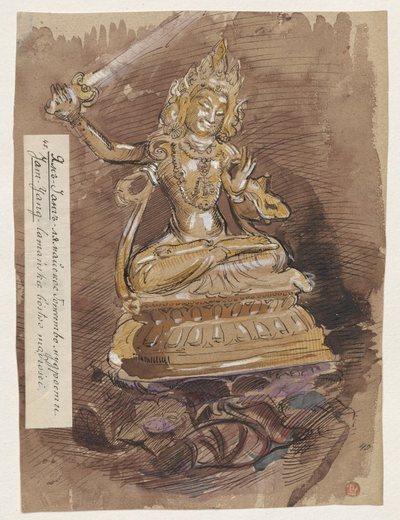 Jam Jang - tybetańskie bóstwo mądrości, z cyklu