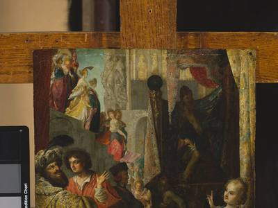 Daniel i król Cyrus przed Baalem (Dn 14, 1-2)