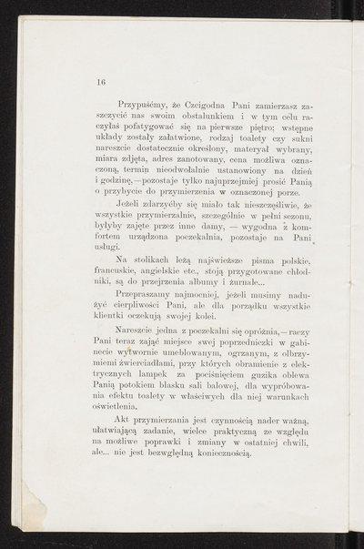 Broszura reklamowa Domu Mody Bogusław Herse w Warszawie