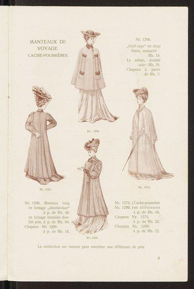 Katalog Domu Mody Bogusław Herse w Warszawie na sezon letni 1905 r., w jęz. francuskim