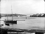[Abersoch harbour after the great gale of October 1896]