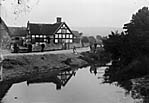 river and bridge, Minsterley (salop)]