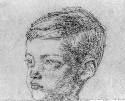 [Portretstudies van de jongetjes Denekamp.]