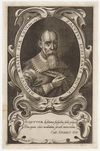 [Portret Zacutus Lusitanus]