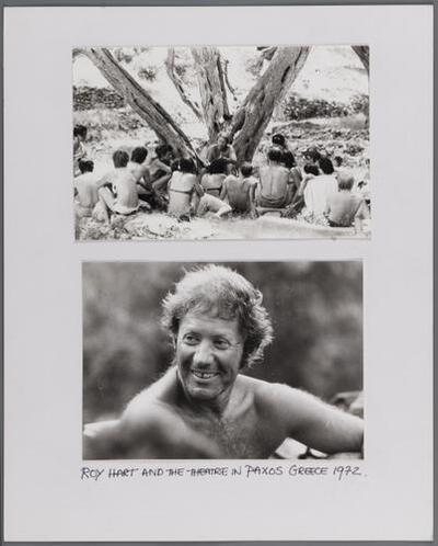 F000378: Serie foto's (46) van Roy Hart Theatre met Alfred Wolfsohn, 1900-1981