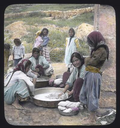 Nazareth women washing clothes