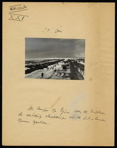 F011404: Foto van Brits interneringskamp op Cyprus, 1946-1948