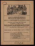 Soldatenlieder-Konzert