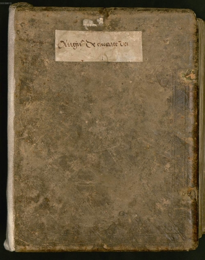 S. Augustini de civitate dei libri I - XVIII - BSB Clm 6267. Accedunt maxime sub finem aliquot glossae