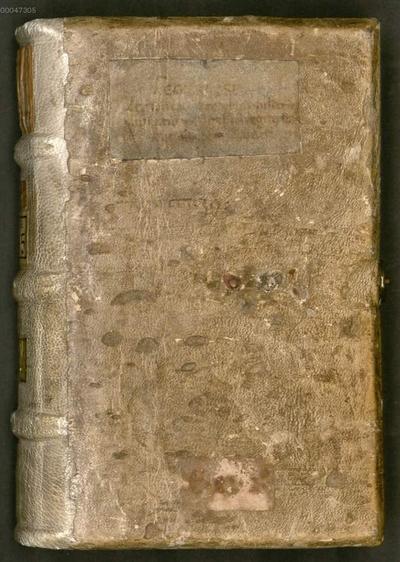 Lex Baiuvariorum - BSB Clm 19415. De partibus divinae legis / Junilius