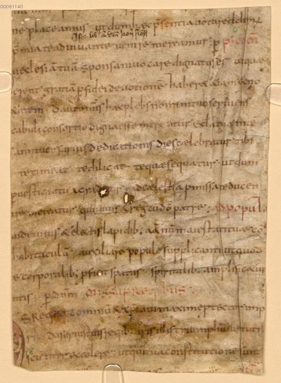 Sacramentarium Gregorianum. Fränkischer Anhang - BSB Clm 29300(10