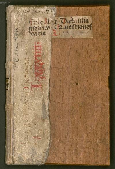 Quaestiones variae praecipue theologicae cum responsionibus - BSB Clm 19410