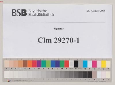 Biblia, Neues Testament, Evangelium. Grammatik (Palimpsest) - BSB Clm 29270(1