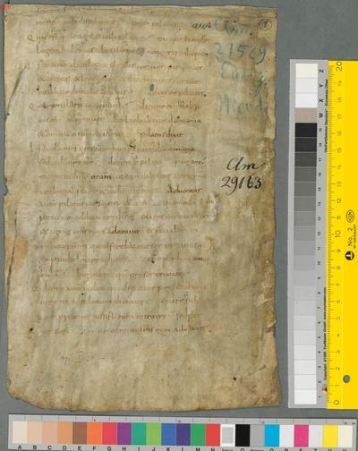 Biblia, Apokrypha, Evangelium Nicodemi - BSB Clm 29275(1