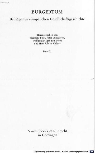 Vom Handelshaus zum Unternehmen :Sozialgeschichte der Firma Harkort im Zeitalter der Protoindustrie ; 1720 - 1820