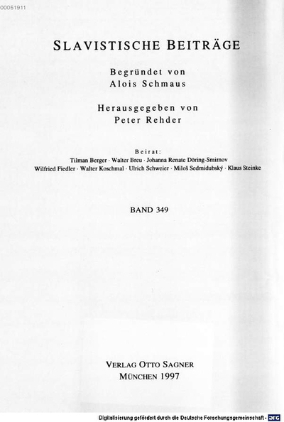 Semantics and pragmatics of the