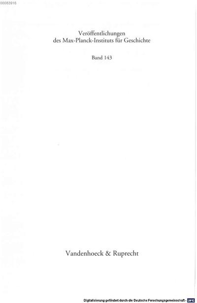 Über Gott und die Welt :Endzeitvisionen, Reformdebatten und die europäische Quäkermission in der Frühen Neuzeit ; mit 6 Tabellen
