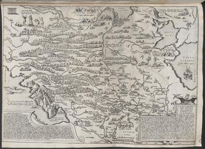 Anthonius Wied candido lectori S. Moscovia qu[a]e & Alba Russia non contenta Europ[a]e Sarmati[a]e parte ... Vale ex Wilda Lihuaniae anno 1555. Cal. Novem. :[Gewidmet] Joanni Coppenio