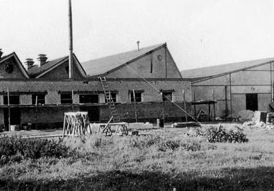 Opstallen van de Sparta Fabriek.