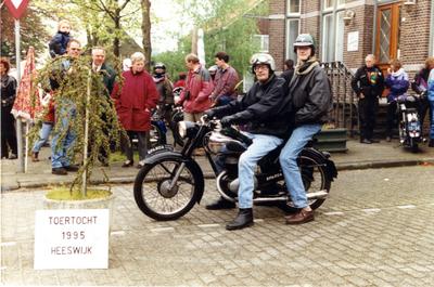 Sparta motorfiets bij een toertocht in Heeswijk