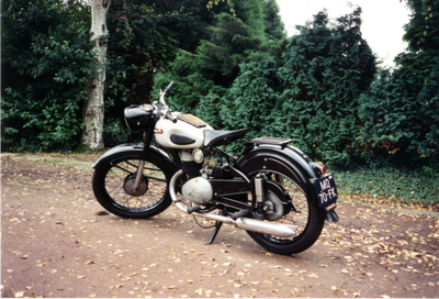 Sparta 200 cc, bouwjaar 1954